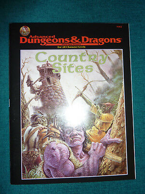 Country Sites AD&D D&D TSR 9482 Advanced Dungeons & Dragons 1995 Robin Jenkins