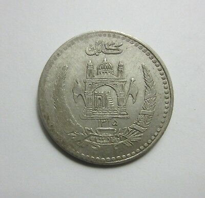 SH1315 (1936) ½ Afghani - Afghanistan / Silver Coin