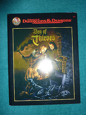 Den of thieves AD&D D&D TSR 9515 Wes Nicholson Advanced Dungeons & Dragons
