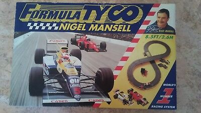 TYCO FORMULA SLOT CAR SET - COMPLETE- 1992- from NIGEL MANSELL