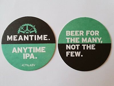 Meantime Anytime IPA Beermat Coaster