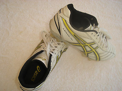 "Asics Lethal RS ""Very Good"" Football Boots US7.5 Cm25.5 EU40.5 AFL,Soccer,Rugby"