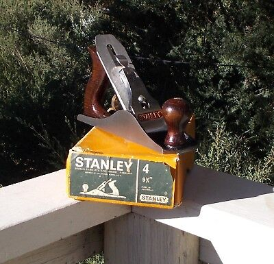 Very Original Boxed STANLEY TITAN Stanley BAILEY No 4 Smoothing Plane IN Box