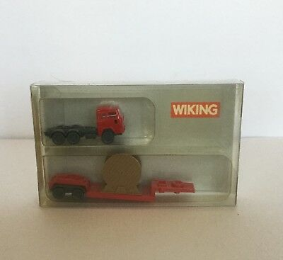N Scale Low Loader With Cable Drum Load Brand New
