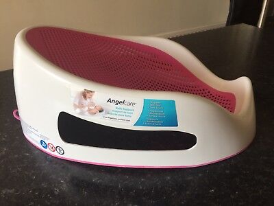 "Angelcare ""Soft Touch"" Baby Bath Support - Pink"