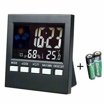Indoor Thermometer Hygrometer Humidity Monitor Digital Temperature Gauge Meter