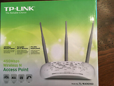 TP-Link TL-WA901ND WLAN N Access Point Repeater 450Mbps in OVP