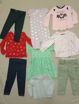 Girls Clothes size 2 bulk pack with 9 items inc.Gumboots