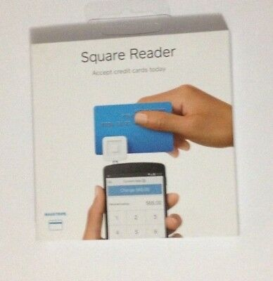 Square Credit Card Reader for iPhone, iPad and Android 8085036 - White