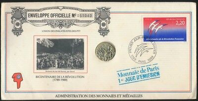 France 1989 PNC Bicentennial of the French Revolution