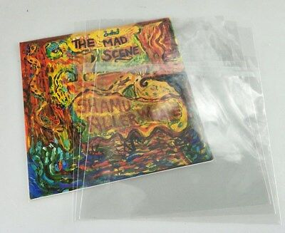 "11 x12""LP VINYL RECORD Plastic Outer Sleeve  Covers  Quality Free Shipping"