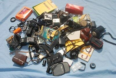 #p4 - A Joblot Of Camera  / Photo Bits And Accessories