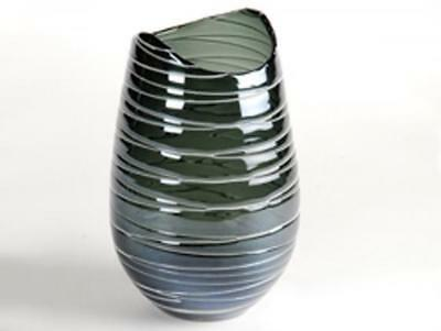Design Vase Stripe 7, blau
