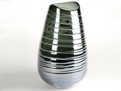 Design Vase Stripe 9, blau