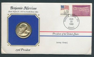 USA 1988 PNC Benjamin Harrison 23rd President of USA