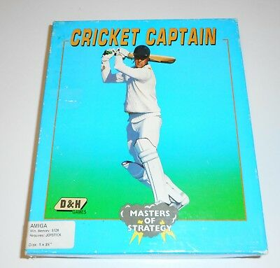 Cricket Captain (D&H Games) (Amiga) (1989) [ECS/OCS] RARE