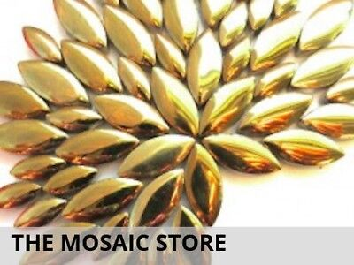 Gold Petals Ceramic | Mosaic Tiles Supplies Art Craft