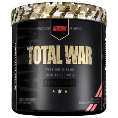 Redcon1 Total War Pre-Workout 30 Serving  + FREE SAMPLE - REDCON Pre-workout