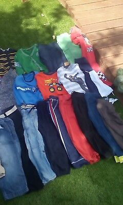 Massive carboot boys clothes age 4-5