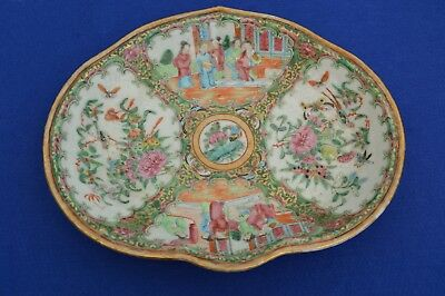 Early 20th Century Chinese Famille Rose Medallion Porcelain Plate - antique