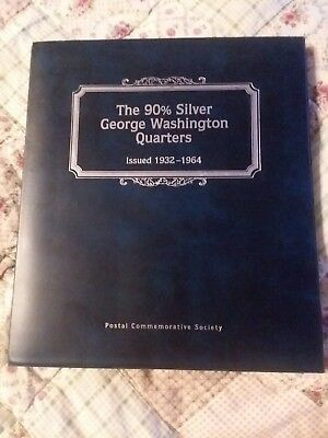 The US Silver Washington Quarter Collection 32 Coin Postal Comm. Set