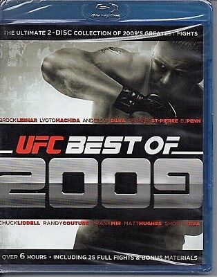 UFC Best of 2009 (Blu-ray Disc, 2010, 2-Disc Set) NEW