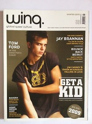 Winq VINTAGE Magazine - Winter 2010 - Jay Brannan, Tom Ford