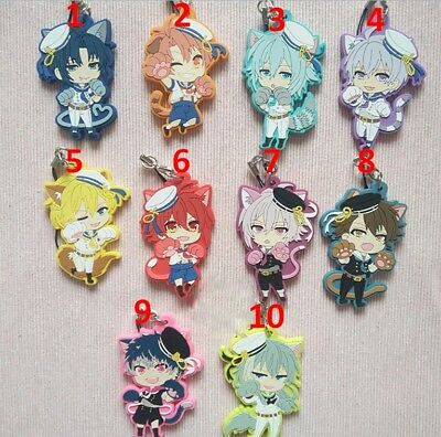 Hot Japan Anime Idolish 7 Re:vale Cosplay Rubber Strap Keychain Pendant P20