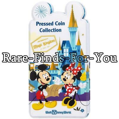 Walt Disney World Parks Mickey Mouse Pressed Coin Collection Holder Book (NEW)