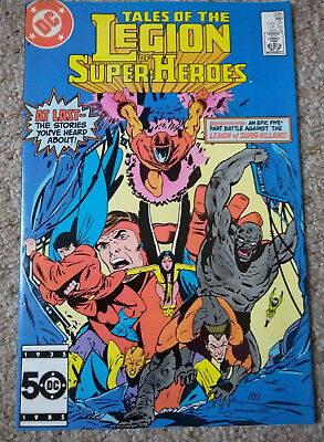 TALES OF THE LEGION OF SUPER-HEROES # 326 (1985) DC COMICS NM Condition