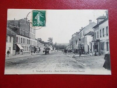 cpa - 78 (Yvelines) - Viroflay - route nationale allant sur Chaville