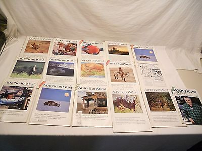 American West, Vintage Magazines, Lot Of 18, 1982, 1983, 1984, 1985