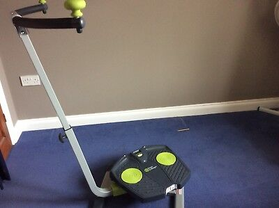 Spin And Twist Exercise Machine With Dvd