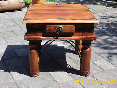 Vintage Indian Rosewood Small Table