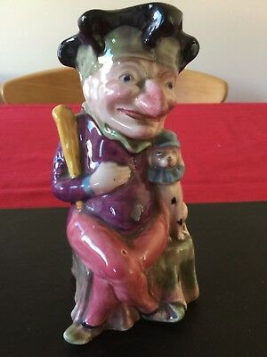 Melba Ware Punch From Punch and Judy with Dog Toby Character Jug