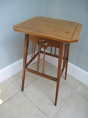 Arts and Crafts Oak side table attrib. Wylie & Lochhead