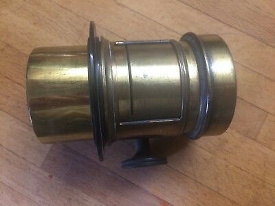 "5"" f2.6 unnamed Petzval Brass lens in a very very respectable condition"