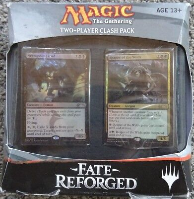 MTG -Fate Reforged- Two player clash pack- Power & Profit (englisch)