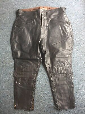 Vintage Buco J91  Horse Leather Motorcycle Pants