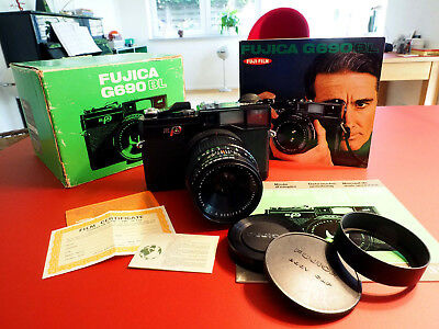 "Fujica G 690 ""Texas Leica"" & 3.5/100 near mint & BOX"