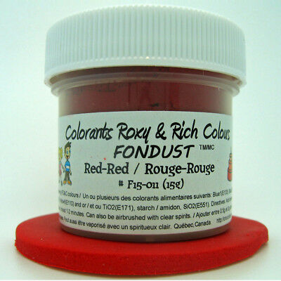 Chocolats Roxy & Rich Powder Colour - Red-Red -  4 g