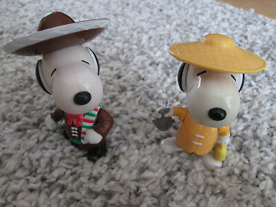 2 Snoopy Figuren, Mc Donalds, 1999