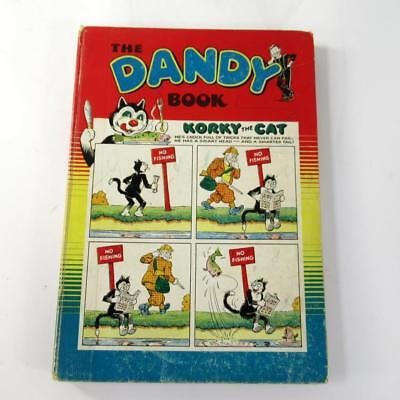 The Dandy Book 1955 Edition - Vintage Comic Annual - Good Condition Hardback
