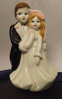 "Vintage ""Lady Angela"" Bride and Groom. Excellent Condition. Could Be Cake Topper"