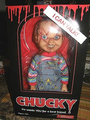 """Chucky         """"child's play""""     Talking Notorious 15"""" inch Doll"""