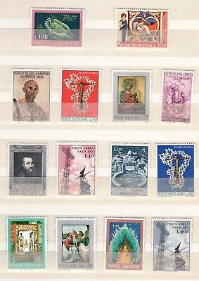 Vatican City Collection 14 Holy See Stamps