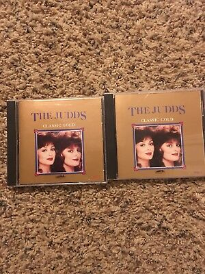 The Judds Classic Gold 2cd Set Discs 1 And 2 Vg++ Curb Heartland 2041