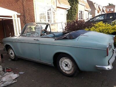 hillman minx 1959 convertible barn find