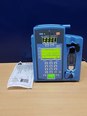 Alaris single channel infusion pump with 20x IV giving set