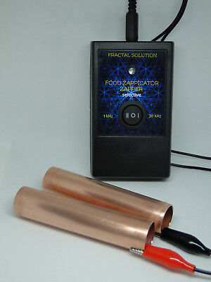 Selective 30kHz ZAPPER and 1kHz Food ZAPPICATOR Dr. Hulda Clark Fractal Solution